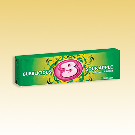 Bubblicious Sour Apple