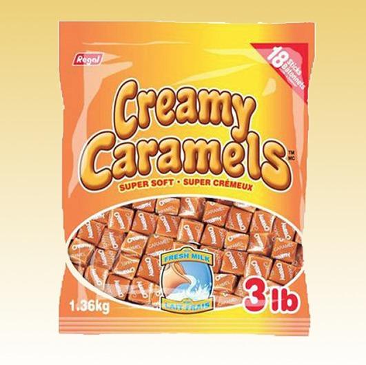 Creamy Caramels Tub