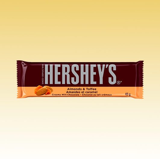 Hershey Almonds & Toffee