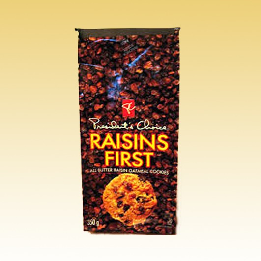 Raisins First