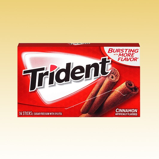 Trident Spicy Cinnamon