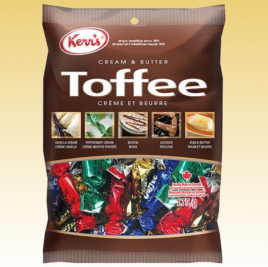 Kerr's Assorted Toffee's 650g