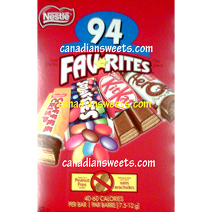 Nestle Favourites- 90 Mini Bars