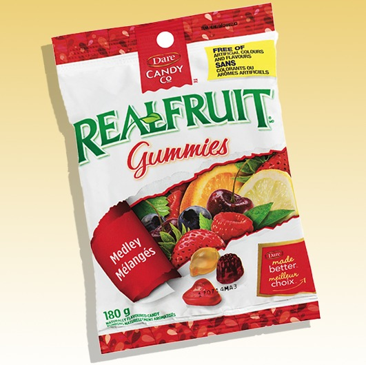 Dare Real Fruit Gummies (Medley)