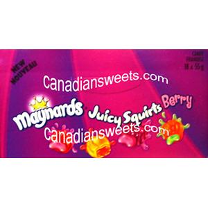 Maynards Juicy Squirt Berries