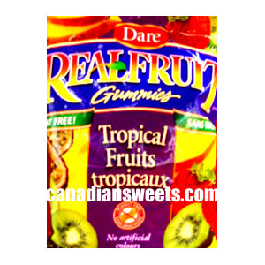 Dare Real Fruit Gummies Tropical