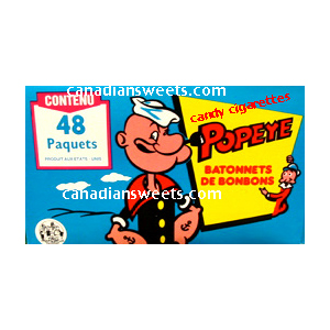 Popeye Candy Cigarettes