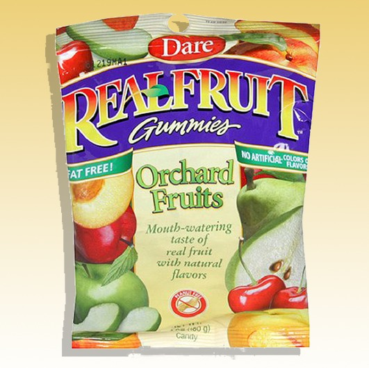 Dare Real Fruit Gummies Orchard