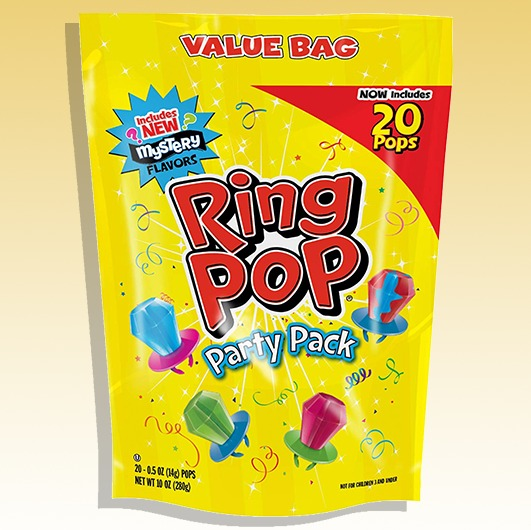Ring Pops Regular (Yellow)