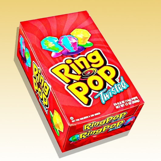 Ring Pops Twisted (Red)