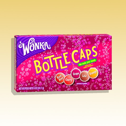 Wonka Bottlecaps